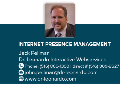 Dr. Leonardo Interactive Webservices